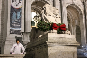 New York Public Library. I have to go in next time.